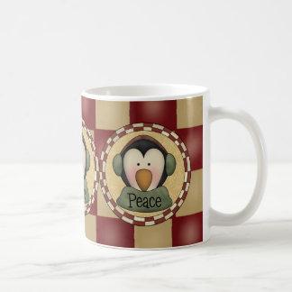 Penguin Peace Coffee Mugs