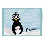 Penguin Peace Winter Card