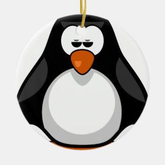 penguin - penguin ceramic ornament