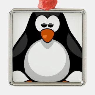 penguin - penguin metal ornament