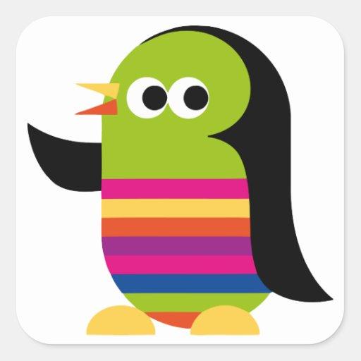 Penguin Penguins Bird Antarctica Cute Cartoon Stickers
