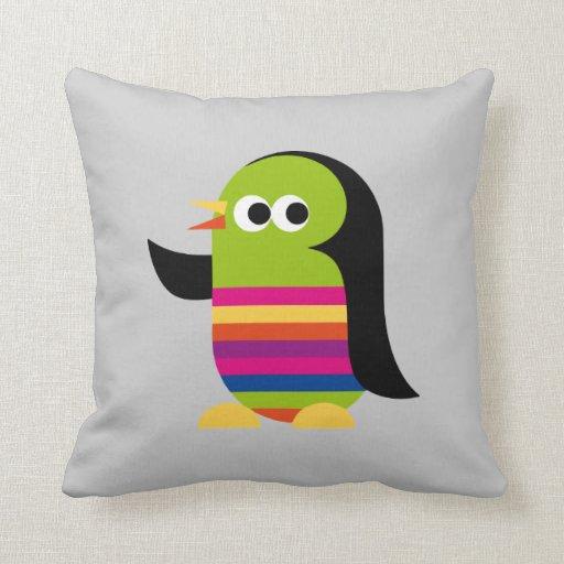 Penguin Penguins Bird Antarctica Cute Pillow