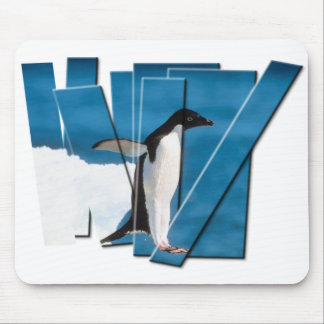 PENGUIN PHOTO STRIPS MOUSE PAD