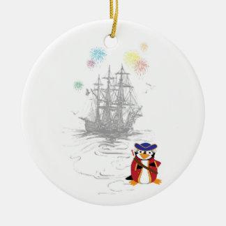 Penguin Piratez Ornament