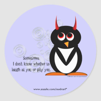 Penguin Pity Party Stickers