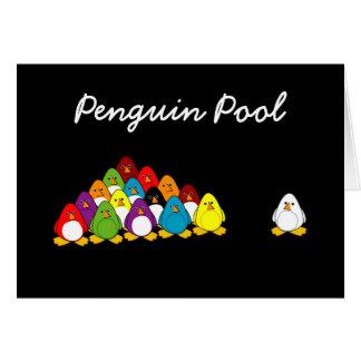 Penguin Pool (Birthday) Greeting Card