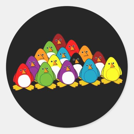 Penguin Pool Classic Round Sticker