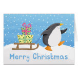 penguin presents greeting cards