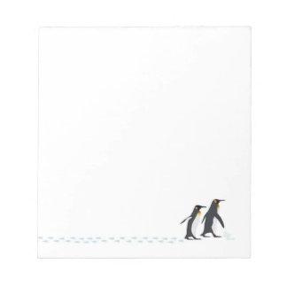 Penguin Prints Notepad
