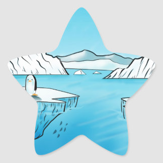 Penguin Products Star Sticker