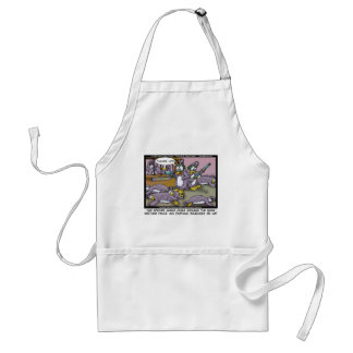Penguin Profiling Funny Gifts Tees & Collectibles Adult Apron