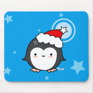 Penguin Puff mousepad
