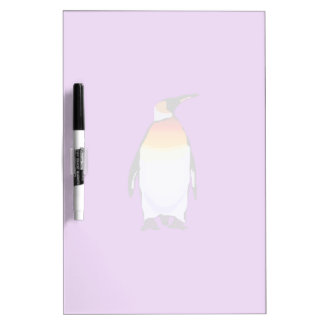 Penguin Purple Dry-Erase Board