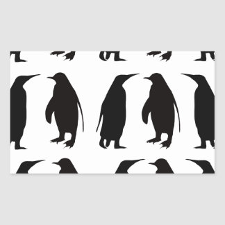 Penguin Rectangular Sticker