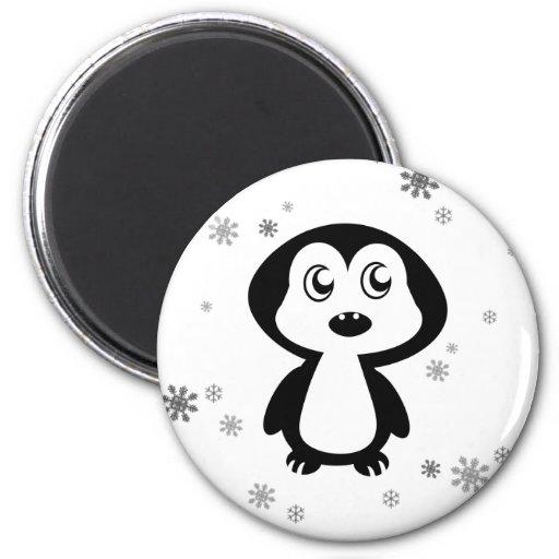Penguin Refrigerator Magnets