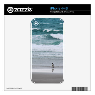 Penguin returning from the ocean skin for the iPhone 4S