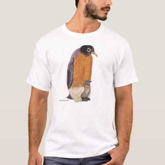 Penguin Robin with Chick T-Shirt