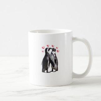 Penguin Romance Coffee Mug