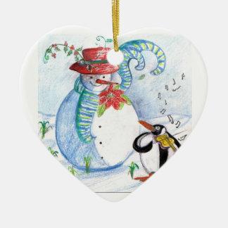PENGUIN S SERENADE CHRISTMAS TREE ORNAMENTS