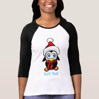 Penguin Santa Claus T-Shirt