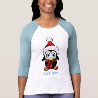 Penguin Santa Claus T-shirts