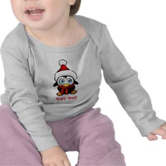 Penguin Santa Claus Tee Shirts