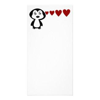 Penguin Sees Love I Card