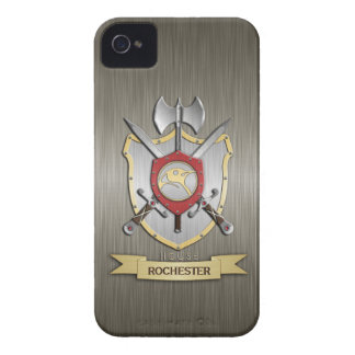 Penguin Sigil Battle Crest Armor iPhone 4 Cases
