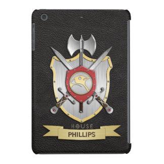 Penguin Sigil Battle Crest Black iPad Mini Retina Cases