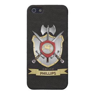 Penguin Sigil Battle Crest Black Case For iPhone SE/5/5s