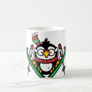 Penguin Ski Jumping Mug