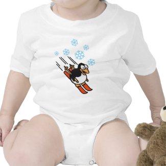 Penguin ski shirt