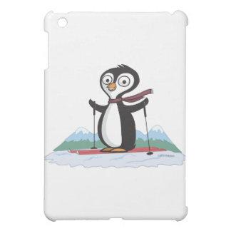 Penguin Skiing Cover For The iPad Mini