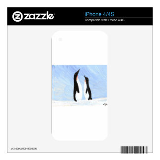 Penguin Decal For iPhone 4S