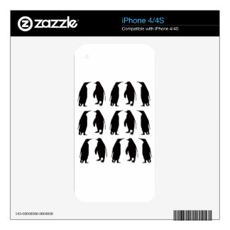 Penguin Skins For iPhone 4