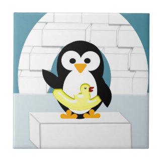 Penguin Small Square Tile