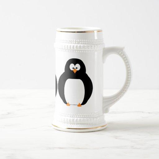 Penguin Stein 18 Oz Beer Stein