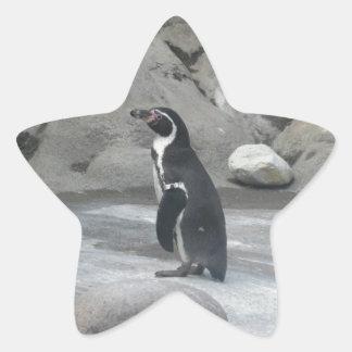 Penguin Star Stickers