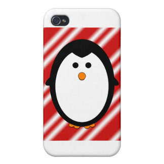 Penguin stripes iPhone 4 cover