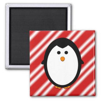 Penguin stripes magnet