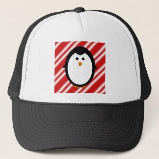 Penguin stripes trucker hat
