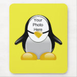 Penguin Suit (Yellow) Template Mouse Pad