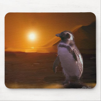 PENGUIN SUNSET MOUSE PAD