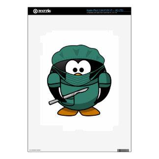 Penguin Surgeon Skin For iPad 3