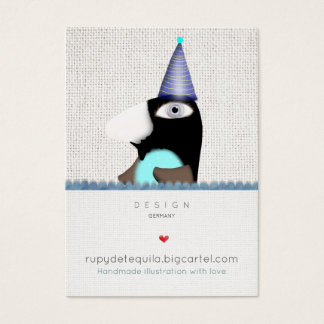 Penguin sweet fairytale Business Cards