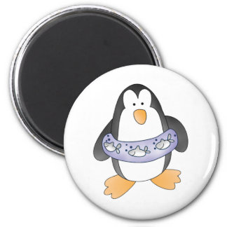 Penguin Swim Magnet