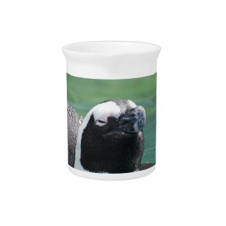 Penguin Swimming Beverage Pitcher