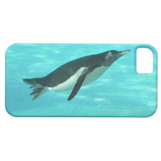 Penguin Swimming Underwater iPhone SE/5/5s Case