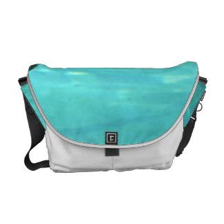 Penguin Swimming Underwater Messenger Bag
