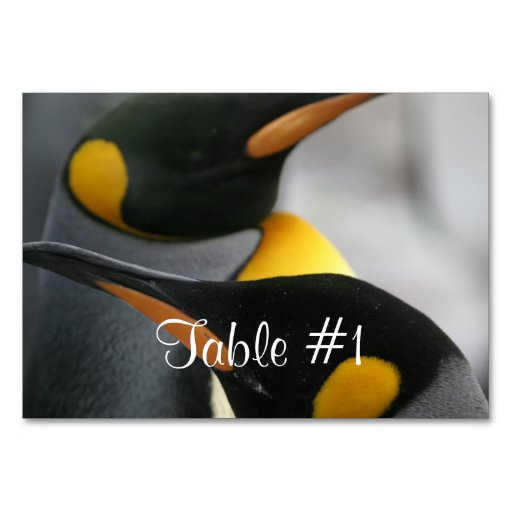 Penguin Table Cards